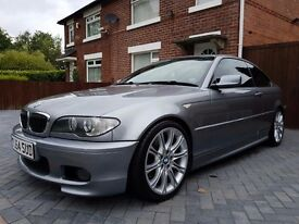 *** REDUCED *** BMW 330CD AUTO M-SPORT GREY 204 BHP FACELIFT MODEL FSH HPI CLEAR 12 MONTHS MOT ***