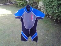 Shortie wetsuit 34 inches excellent condition