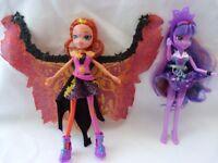 Equestria Sunset Shimmer & Twilight Sparkle Dolls