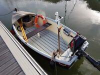 12 ft Open Fishing Boat