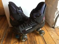 Original Bauer Turbo Quad Skates Size UK 9, good for size 8 +Insoles