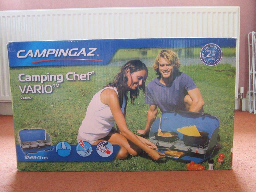 campingaz camping chef instructions