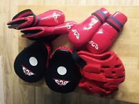 Child's Kickboxing Set - Size Small