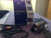 Sony Handycam DCR-H662E Digital Video Camera with accessories in original box