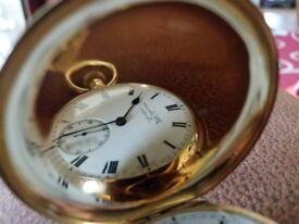 Outstanding 18ct gold pocket watch for sale great conditon
