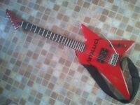 electric guitar Pulse star shape