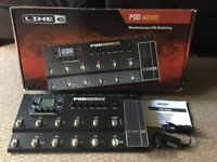 Line 6 Pod HD500 hd500 guitar, bass effects board, excellent condition with box