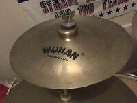 "12"" Wuhan China cymbal on mini stand"