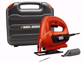 Black&Decker KS777K-GB 230v Sightline Variable Speed Jigsaw 520w Kitbox