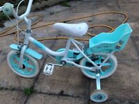 Baby girl bicycle