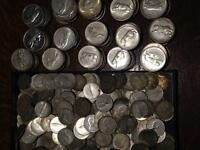 1967 Silver Dimes and Quarters