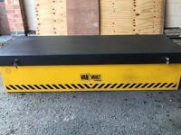 Van vault out back tipper