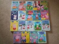Ultimate Collection of 20 Peppa Pig DVDs