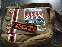 Men's or ladies Beatles bag.