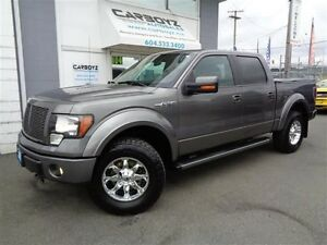 2012 Ford F-150 FX4 Crew, LIFTED, Nav, Leather, Sunroof
