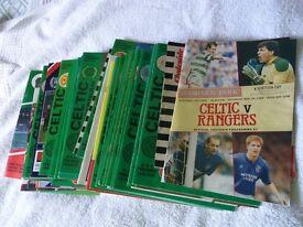 CELTIC 1988/89 PROGRAMMES