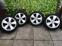 17 inch Audi/VW alloys