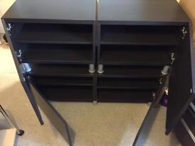 Ikea Besta storage multi media tv unit