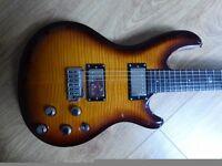 Very Rare Dean Hardtail Select Vibrato - PRS Custom style meets Gibson Les Paul