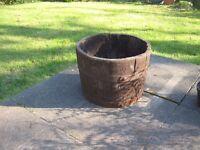Wooden Garden Tub