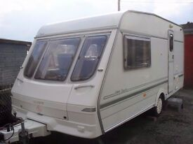 Caravan Swift Duette 2 berth with accessories - Excellent Condition