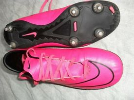 NIKE MERCURIAL UNISEX FOOTBALL BOOTS SIZE 7 - VERY GOOD CONDITION