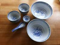 Chinese style bowls