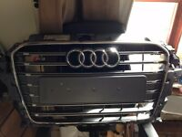 AUDI S3 GRILL 2013-2016 (NOT 2016 ON, GENUINE AUDI)