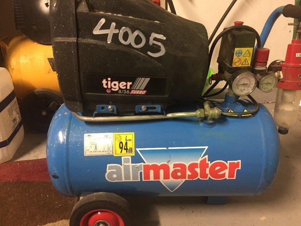 AIR COMPRESSOR air tiger turbo 25lt