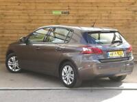 Peugeot 308 1.6 THP Active 5dr SAT NAV (nimbus grey metallic) 2014