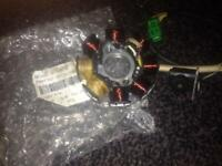 Chineses scotter parts new stator and right hand switch new