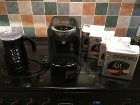 Bosch Tassimo Coffee Machine and Electric Milk Frother