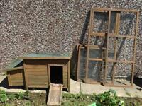 Chicken house & run