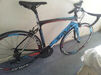 carbon road bike wrong size purchased thats the reason for sale
