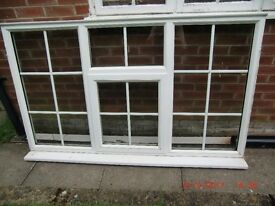 upvc window frame and glass