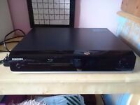 Samsung Blu-ray DVD disc player BD-P1400 remote control excellent condition HDMI output