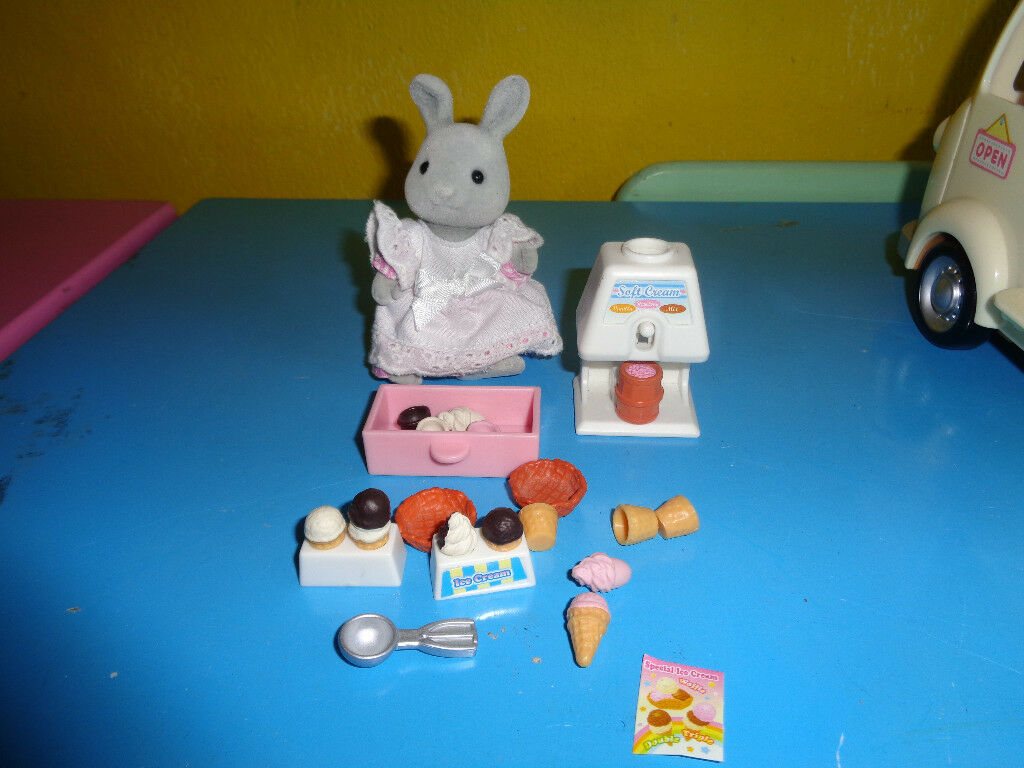 SYLVANIAN ICE CREAM VAN & SYLVANIAN RABBIT | in Bournemouth, Dorset ...
