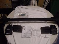 Halfords Roof Bars System B PLUS M500 Fitting Kit