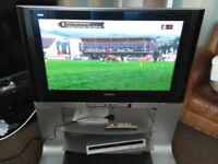 """Panasonic 37"""" hdmi 1080 full HD Plasma TV with built in Freesat & Freeview, as new"""