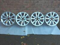 "Alloy Wheels 10 Spoke 16"" rims"