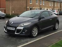 2010 Renault Megane Coupe 1.9 Diesel F.S.Histry New 1 Yr Mot Manual Xenon headlight Panoram Sunroof