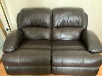 2 and 3 seater electric reclining sofa