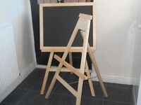 Chalk Board with Stand.