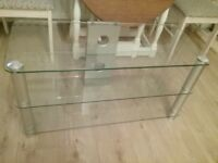 Large TV Glass Stand