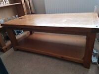 Coffee Table - Heavy Solid Pine