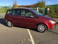 Ford Focus c-max, 2005, 1.6 petrol, long mot, £895