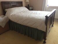 Antique solid oak bedroom furniture