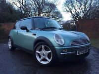 **EXCELLENT CONDITION** this 2003 03 MINI HATCH COOPER IS ONLY £2395!!!
