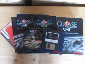 Original Mac Pre OSX - Cubase VST 4.1 - Software sequencer - manuals - serial number