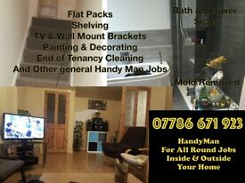 HandyMan For All Round Jobs - Professional Results For Your Home